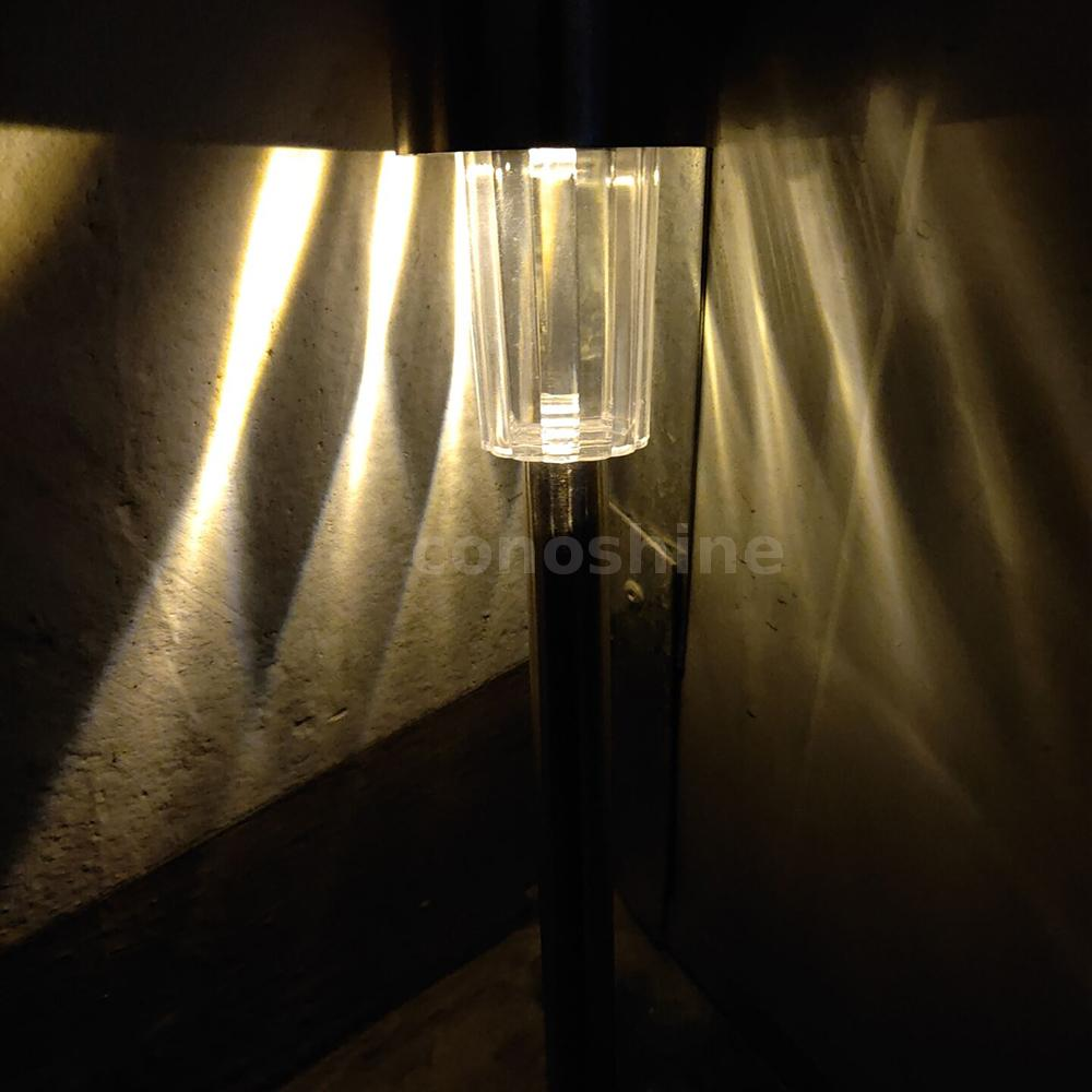 DC2V 0.06W Solar Powered Energy LED Lawn Lamp Outdoor Light 2 Pack N1N0